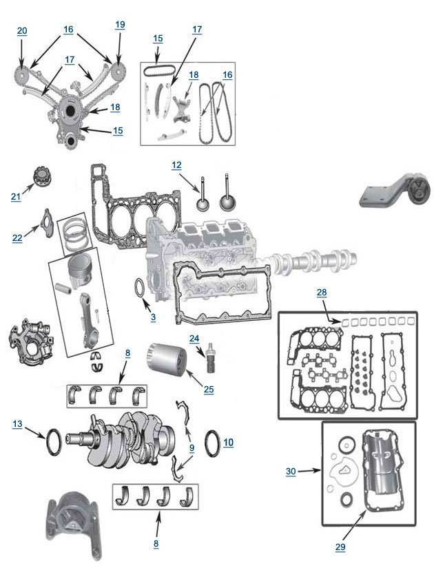if you're looking for 3 7l engine components for a jeep liberty, then  you're looking for an engine that can chew up the terrain and spit it back  out without