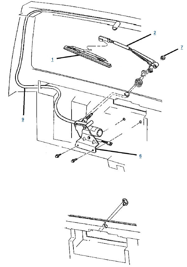 jeep j10 wiper motor wiring diagram gm wiper replacement