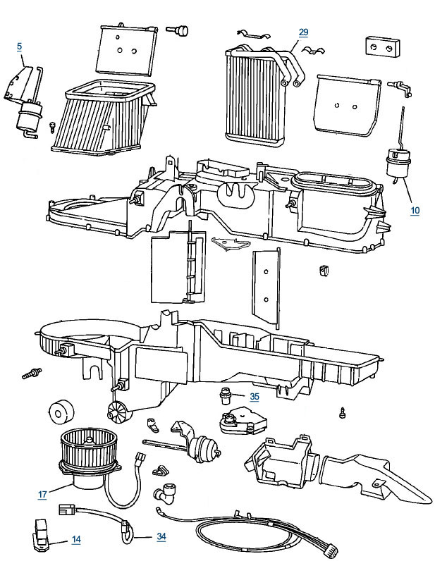 Blen Door 2003 Jetta Diagram