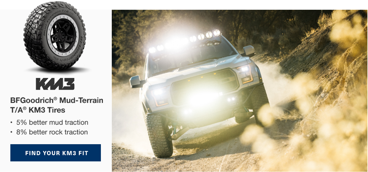 Shop BFGoodrich KM3 Tires and Save