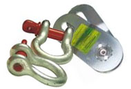 Shackles, Snatch Blocks, Chains, and Hooks