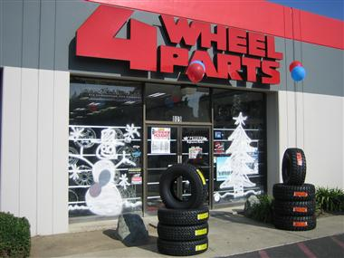 Holidays at 4 Wheel Parts.