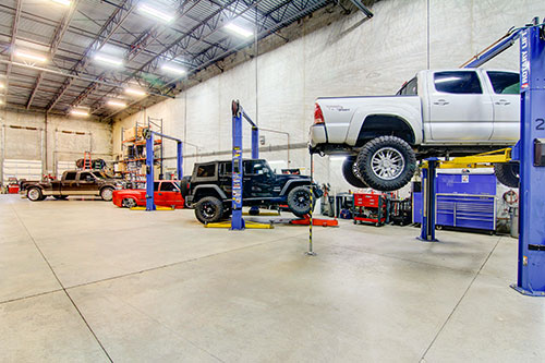 4 Wheel Parts Jacksonville installs all the parts it sells.
