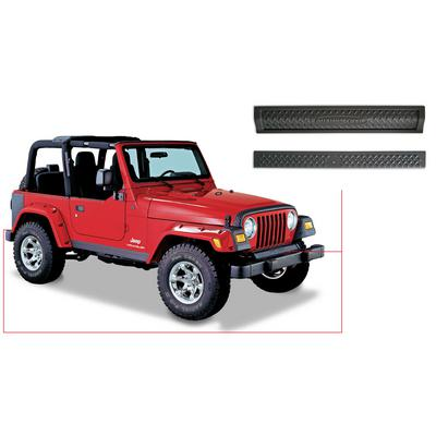 Bushwacker Trail Armor Front Frame Cover and Rear Tailgate Sill