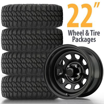 Genuine Packages 22 Inch Wheel and Tire Packages