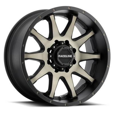 Raceline Wheels Shift BMF Series Satin Black Machined with Dark Tint Wheels