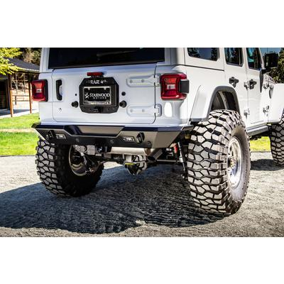 Rage 4th Pro 76 Series Rear Bumper