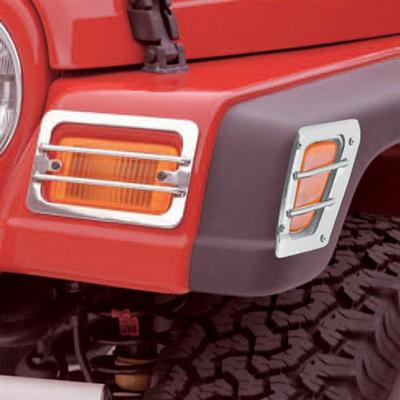 Rugged Ridge Euro Style Turn Signal/Side Marker Guards