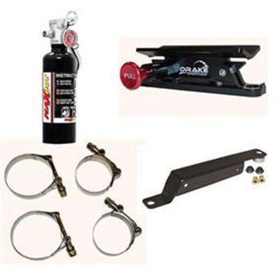 Mua 4WD 1 lb. H3R MaxOut Black Fire Extinguisher and Drake Mounting PAK - 100BJKPKG