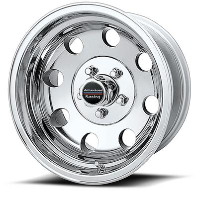 American Racing Baja, 15x8 Wheel with 5 on 5.5 Bolt Pattern - polished - AR1725885