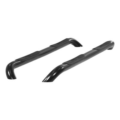 Aries Offroad 3-inch Round Side Bars (Gloss Black) - 202010