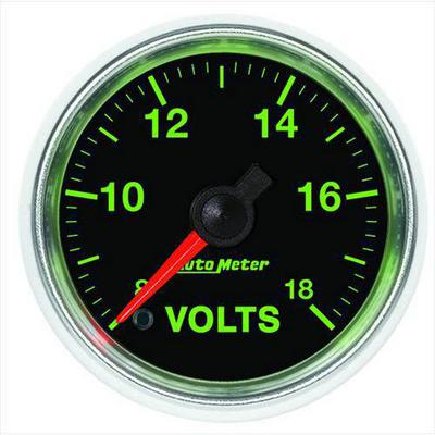 Image of Auto Meter GS Electric Voltmeter - 3891