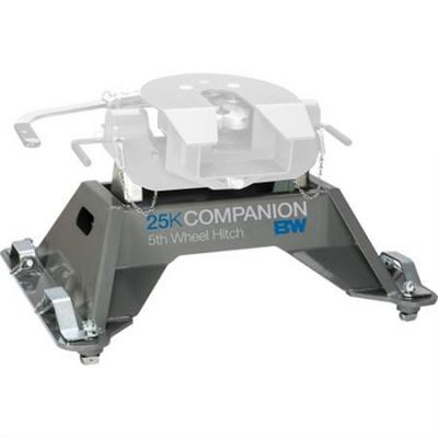 Image of B&W Hitch 25K Companion Fifth Wheel Hitch Replacement Base - RVB3705