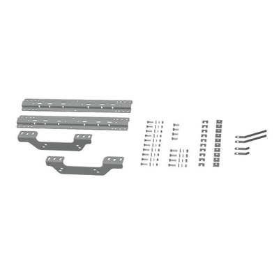 Image of B&W Hitch 5th Wheel Mounting Rails with Quick Fit Custom Bracket Kit - RVK2506