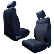 Bartact Front Seat Cover (Black/Black) - JKSC1112FPBB