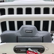 Bartact Winch Cover for Warn Gen II VR 10 & 12 Winches (Graphite) - WCWVRFG