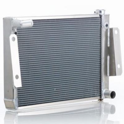 Image of Be Cool Replacement Aluminum Radiator with 6 or 8 Cylinder Engine and Manual Transmission - 61221
