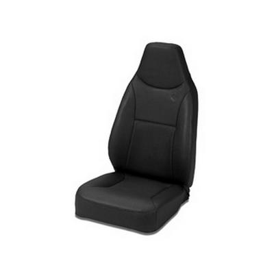 Image of Bestop Trailmax II Stationary High Back Front Seat (Black) - 39436-01