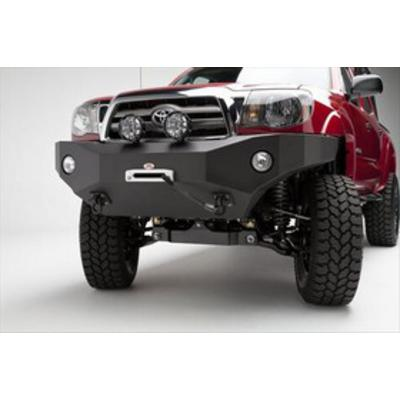 Image of Body Armor Toyota Tacoma Front Winch Bumper in Textured Black (Textured) - TC-19335