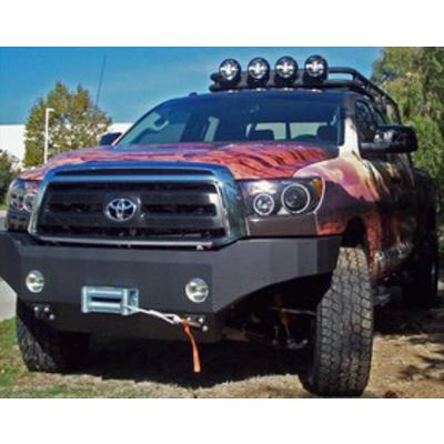 Image of Body Armor Toyota Tundra Front Winch Bumper in Textured Black (Textured) - TN-19335