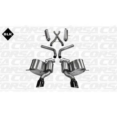 Corsa Sport Cat-Back Exhaust System - 14466BLK