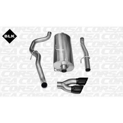 Corsa Sport Cat-Back Exhaust System - 14481BLK
