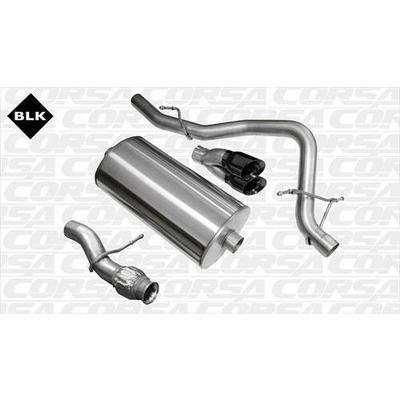 Corsa Touring Cat-Back Exhaust System - 14913BLK