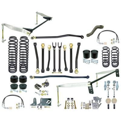 Currie 4 Inch Off Road Suspension Lift Kit with Rear Antirock Sway Bar - CE-9807JCE
