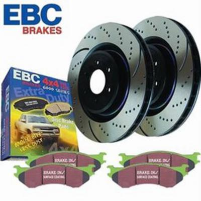 EBC Brakes S2KF1287 S2 Kits Greentuff 2000 and USR Rotors