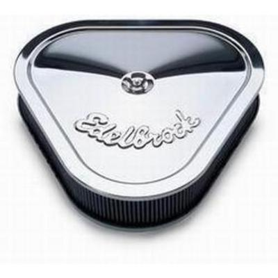 Edelbrock Pro Flow Air Cleaner Assembly (Chrome) - 1222