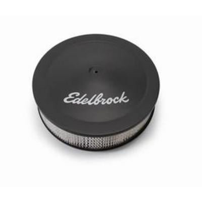 Edelbrock Pro-Flow Air Cleaner Assembly (Coated) - 1203