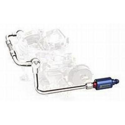 Edelbrock Dual-Feed Fuel Lines and Filter Kit - 8133