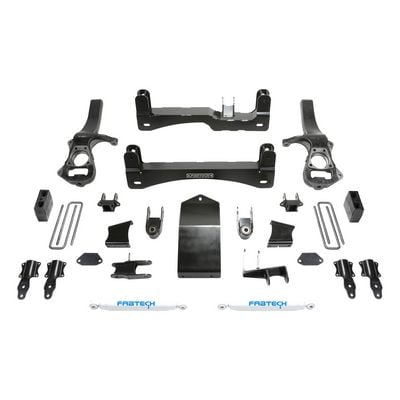 Fabtech 6 Inch Basic Lift System with Performance Shocks - K1132
