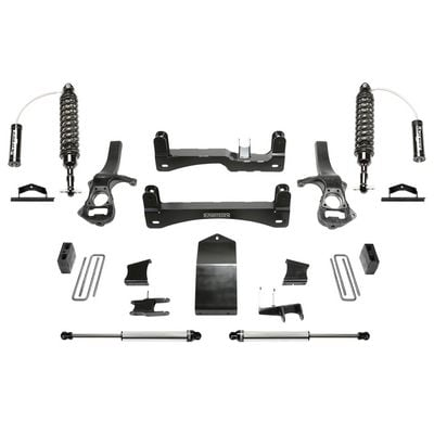 Fabtech 6 Inch Performance Lift System with Dirt Logic Reservoir Shocks - K1134DL