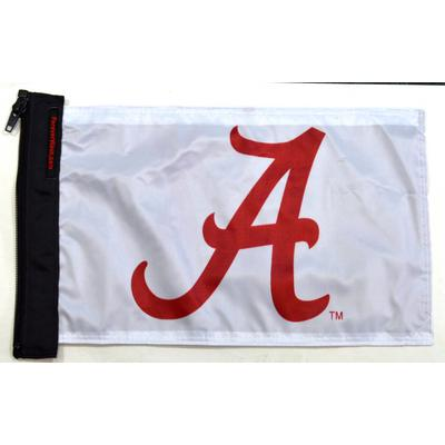 Image of Forever Wave Flag - Alabama A (White) - 5002