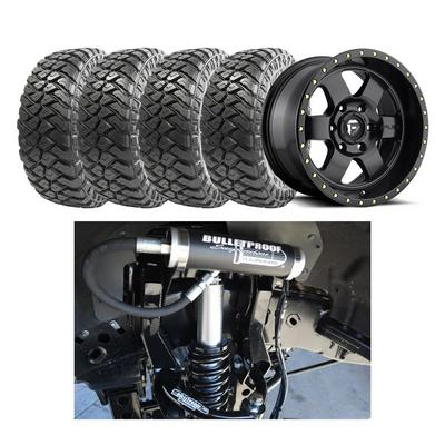 Bullet Proof Tires >> Genuine Packages Bulletproof 10 12 Option 1 Lift Kit With Mht Fuel