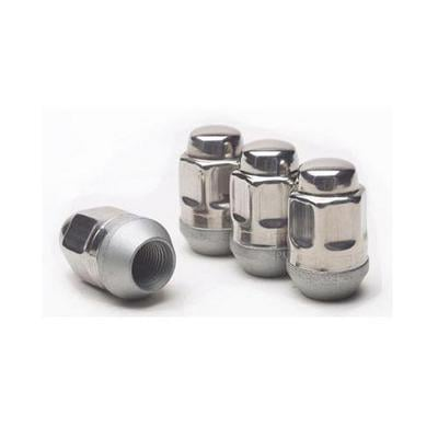 Image of Gorilla Automotive 1/2 Inch-4 Stainless Steel Lug Nut Pack (Stainless Steel) - 91187SS