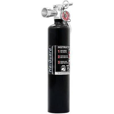 Image of H3R Performance 2.5 lb. HalGuard Black Clean Agent Fire Extinguisher - HG250B