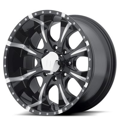Helo Maxx HE791, 18x9 Wheel with 6 on 5.5 Bolt Pattern - Black- HE7918960912