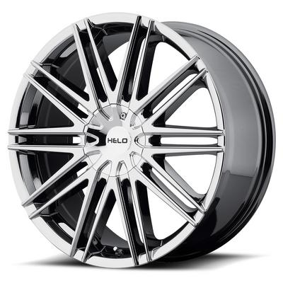 Helo HE880, 20x8.5 Wheel with 5 on 115 and 5 on 120 Bolt Pattern - Chrome- HE88028520842