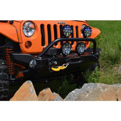 Hyline Offroad Front Recessed Winch Bumper (Black) - 400.100.130