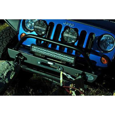 Hyline Offroad Recessed Crawler Front Bumper (Black) - 400.100.190