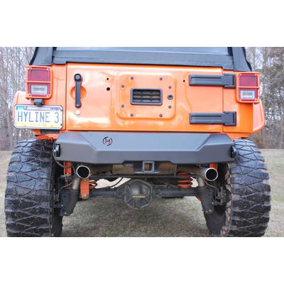 Hyline Offroad Canyon Stubby Rear Bumper - 400.200.140