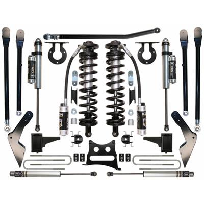 Icon Suspension 4-6.5 Inch Stage 7 Coilover Conversion 4-Link Suspension System - K63127