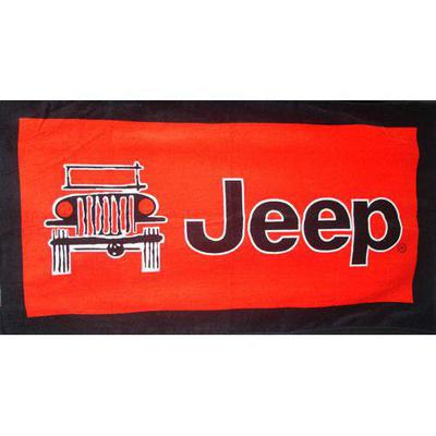 INSYNC Business Solutions Jeep Seat Towel (Red) - T2G100R