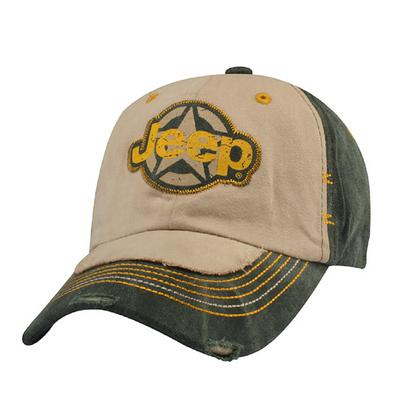 Image of Jeep Star Applique Hat - 126VG