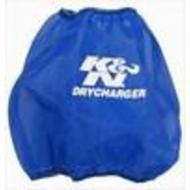 K&N DryCharger Round Tapered Filter Wrap (Blue) - RF-1048DL