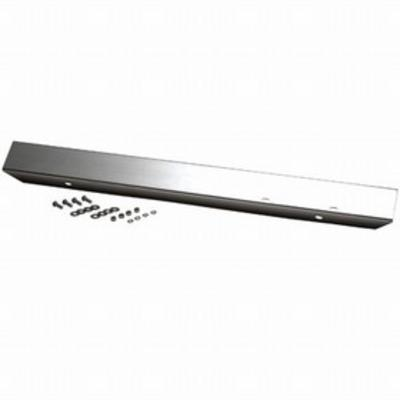 Image of Kentrol 42 Inch Front Stainless Steel Bumper without Holes (Stainless Steel) - 30471