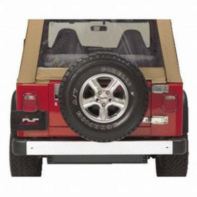 Image of Kentrol 50 Inch Stainless Steel Rear Bumper (Stainless Steel) - 30487