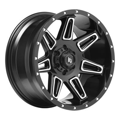Image of Burst Series 117, 20x10 Wheel Size with 6x5.5 Bolt Pattern - Satin Black Machined - 11722083324N